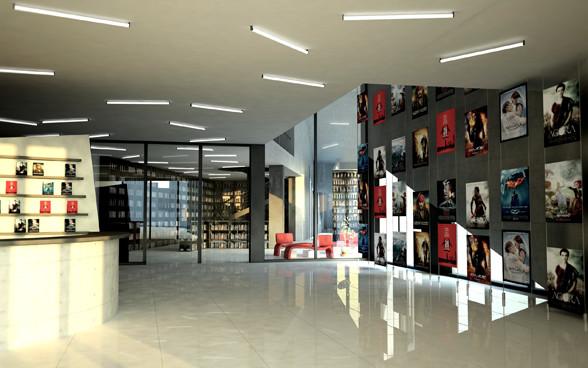 Interior Design Culture cultural center
